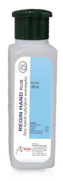 Regin Hand Rub Hand Sanitizer