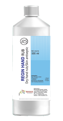 REGIN hand rub CT - Surgical rub